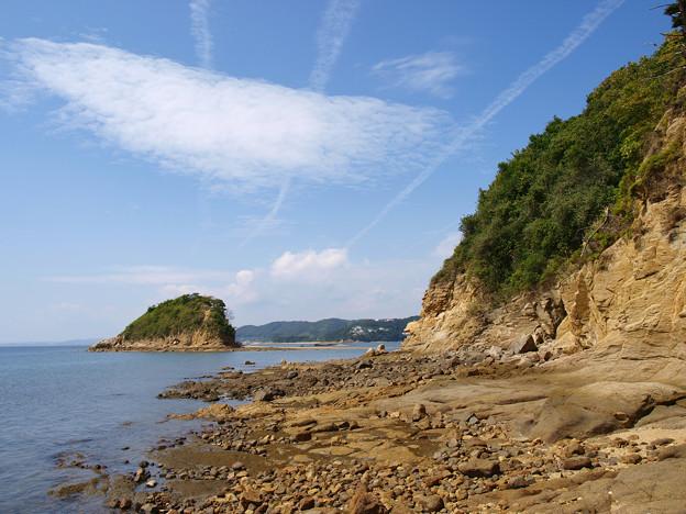 空と海と島