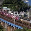 玉川橋梁を行く EF200-3号機