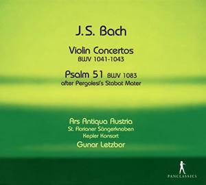 写真: J.S.バッハ:四つのヴァイオリン協奏曲 / カンタータ第182番 / 詩編第51編(ペルゴレージの「スターバト・マーテル」による)