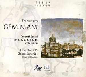写真: ジェミニアーニ:コレッリのソナタによる七つの合奏協奏曲