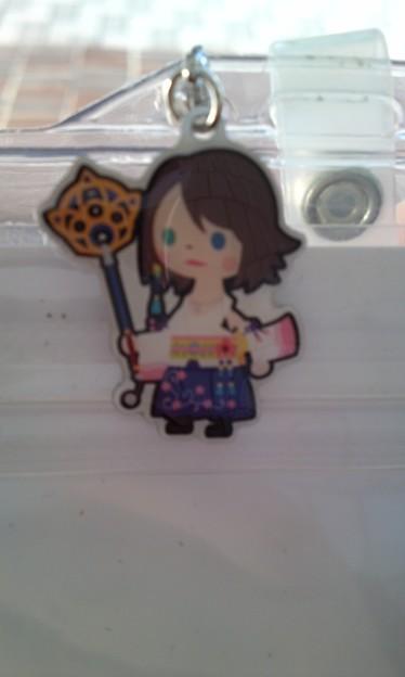 写真: O川先輩に取ってもらったユ...