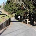 写真: 【旧東海道】山中城の中を旧東海道が走っている。ここをずっと行くと箱根まで… #静岡の旅2016