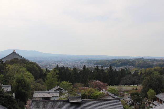 二月堂から多聞山城方面 #奈良散歩2016