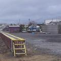 写真: イマココ:日本貨物鉄道&秋田臨海鉄道・秋田港駅 http://tou.ch/spot/1233346/ 青...