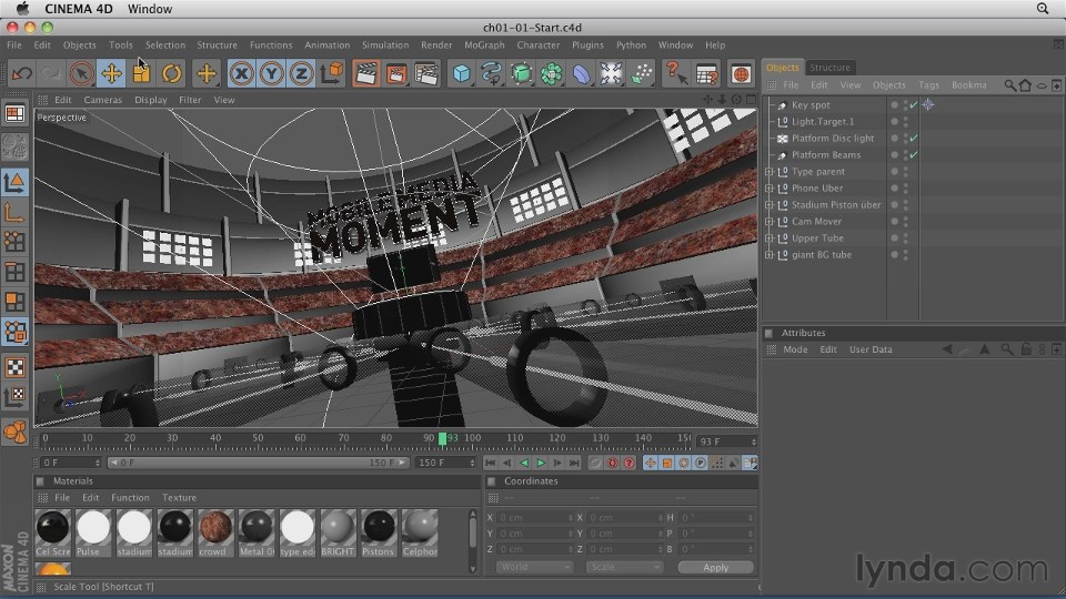 CINEMA 4D渲染After Effects动态图形视频教程(CINEMA.4D.Rendering.Motion.Graphics.for.After.Effects)