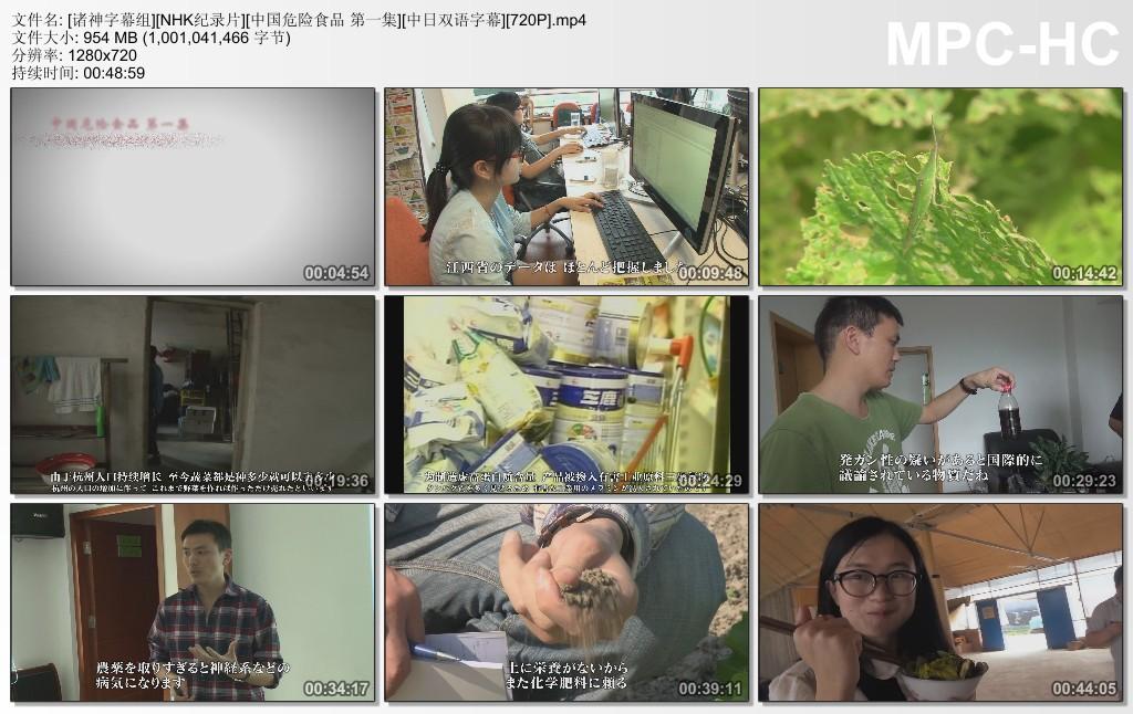 [NHK纪录片]中国危险食品