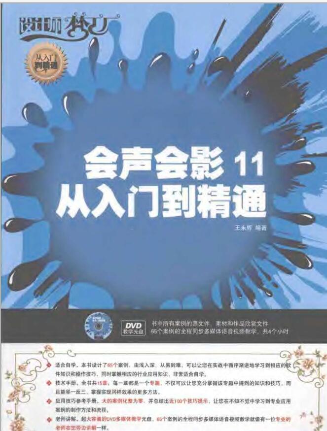 会声会影11中文版从入门到精通
