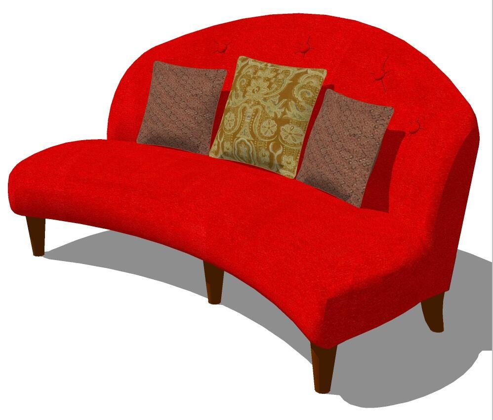 SketchUp室内家具组件模型库