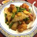 Photos: 鶏肉と野菜のピリ辛炒め