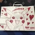 Photos: KFCオリジナル ポケモンストローフィギュア コンプリートパック オリジナル手提げ袋