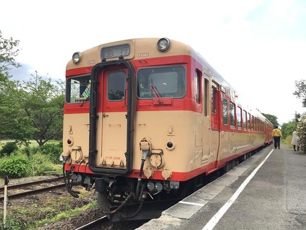 いすみ鉄道 キハ28、キハ58 国吉駅
