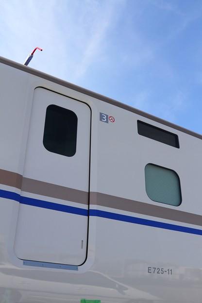 写真: '14 9/14 E7系F11編成陸揚げ-4