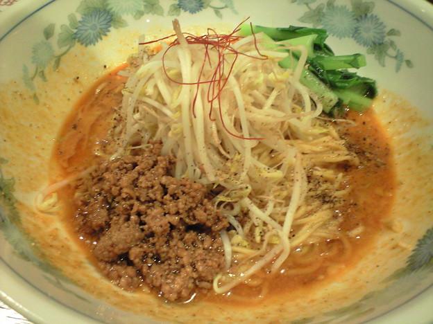 098「天真爛漫」汁なし担担麺2