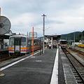 Photos: 津山へはレールバス