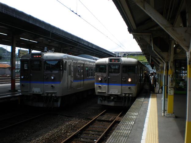 米子発普通列車岡山(播州赤穂)行き