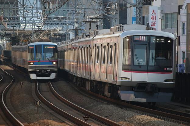 東横線5050系4000番台 4104F・三田線6300形 6314F