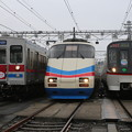 京成3500形 3588F・AE100形 AE168F・浅草線5300形 5314F