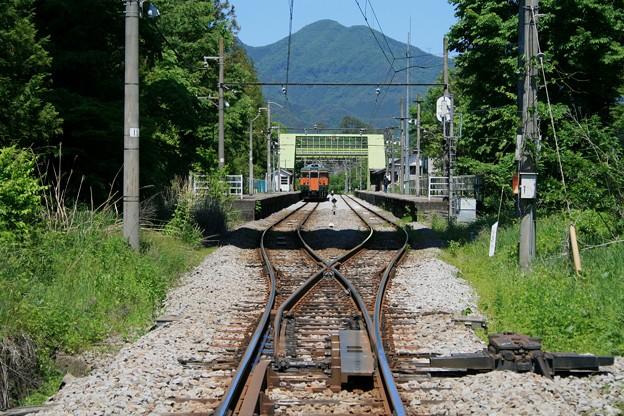 川原湯温泉駅 最後の夏