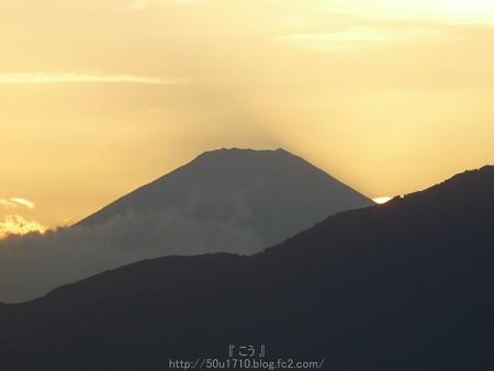 141006-富士山(夕) (2)