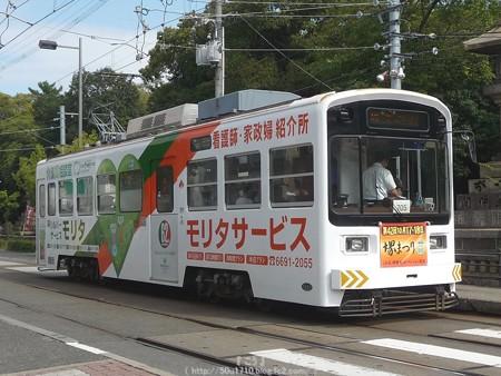 151017-阪堺電車 住吉鳥居前電停 (1)