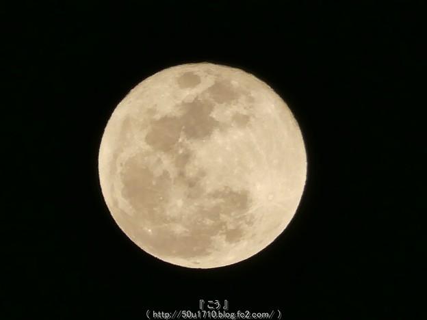 Photos: 160223-お月さん (2)