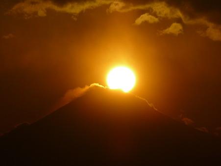 100310-富士山と夕陽 (58)