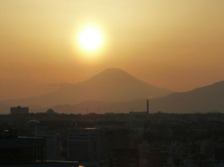 100311-富士山と夕陽 (10)
