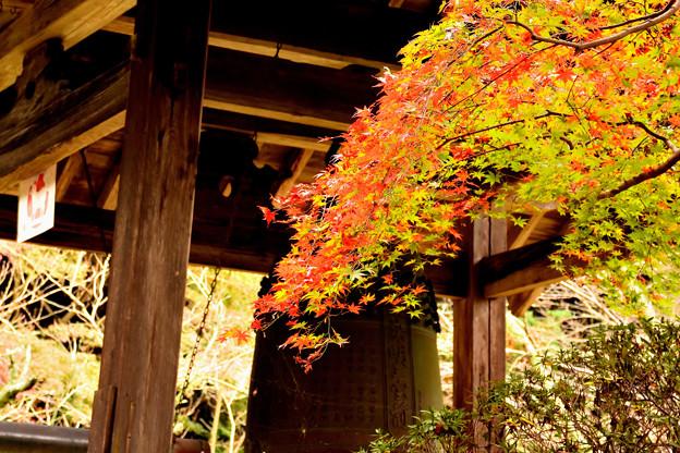 長岳寺の鐘楼