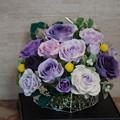 クレイバラアレンジ46作目紫正面