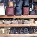 Photos: 昇仙峡土産物屋の編みカゴ2015.11.13