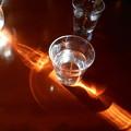 写真: コップの光3