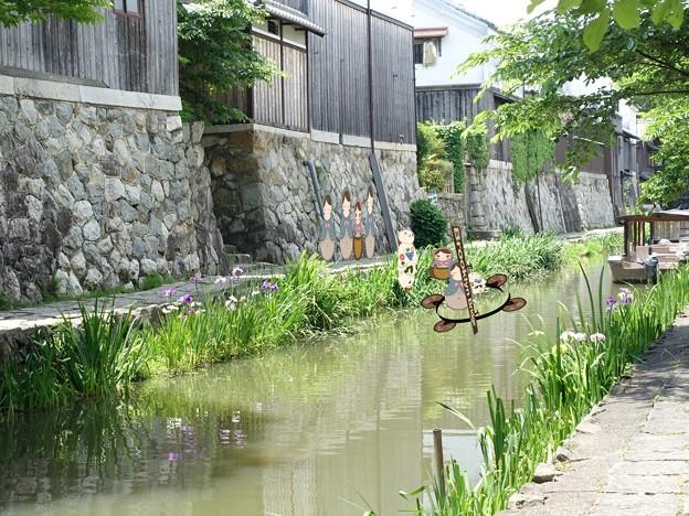 「あさが来た」10月10日放送ロケシーンはココ   はつ(宮崎あおい)船に乗り込んだ場所