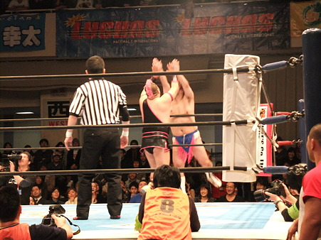 新日本プロレス CMLL 後楽園ホール 20110123 (18)