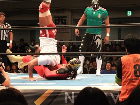 新日本プロレス CMLL 後楽園ホール 20110123 (24)