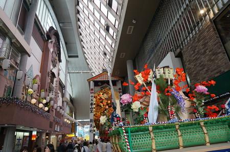 15 2014年 博多祇園山笠 子供山笠 サザエさん 新天町 (1)