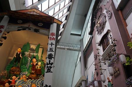 15 2014年 博多祇園山笠 飾り山笠 サザエさん 新天町 (1)