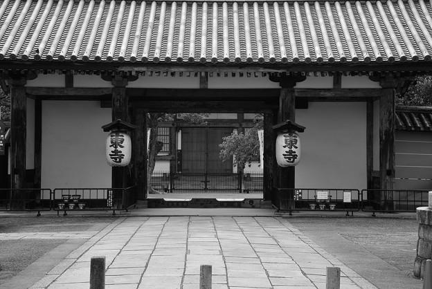 東寺 北大門
