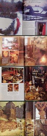 victoria magazine,1989年Dec.ターシャ・チューダのクリスマス