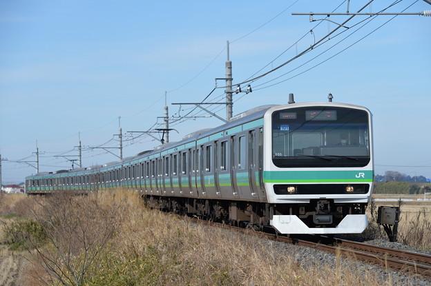 成田線普通列車 E231系10両