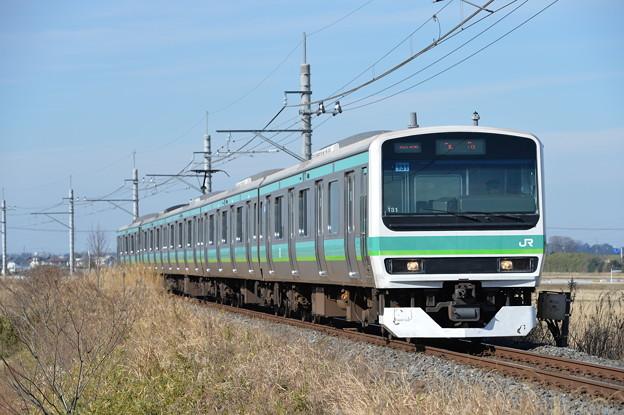 成田線普通列車 E231系5両