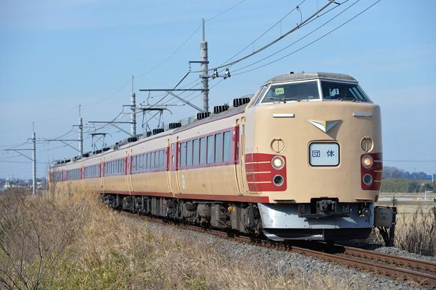 成田山初詣臨時列車 189系