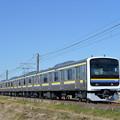 成田線普通列車 2445M (209系)