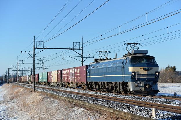 貨物列車 EF6627