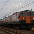 信越本線 普通列車 148M (115系4両)