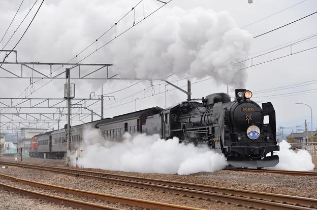 Photos: SLレトロ碓氷 (C6120)
