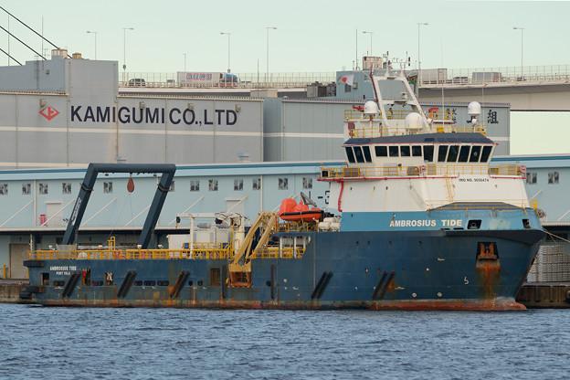 オフショア船 AMBROSIUS TIDE -2