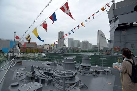 海上自衛隊 訓練支援艦 くろべ -7
