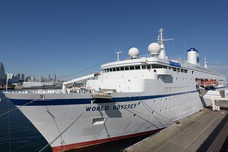 World Odyssey 横浜初入港 -7