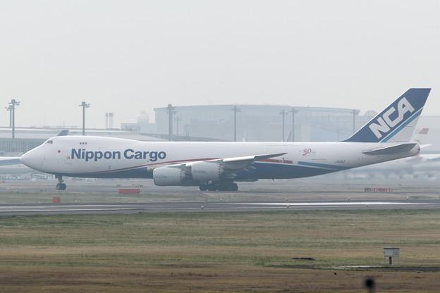 日本貨物航空(NCA) B747-8KZF/SCD JA11KZ (3)