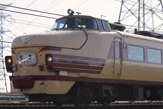 489系特急とき リバイバル運転(4)